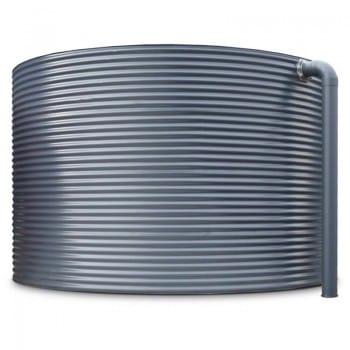 Slimline Round Rainwater Tank : 200 - 275000 Litre - Slimline Rainwater Tanks