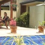 3000 Litre Slimline Colorbond Rainwater Tank for garden use