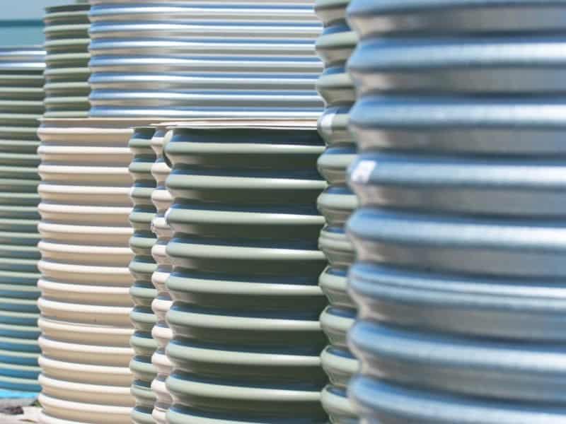 Aquaplate rainwater tanks