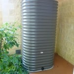 2000 Litre Square Colorbond Water Tank for Garden use